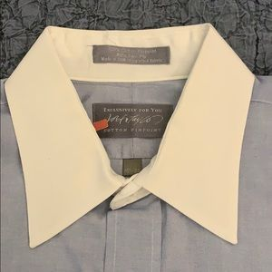 Lord Taylor Blue Dress Shirt [15.5-34]